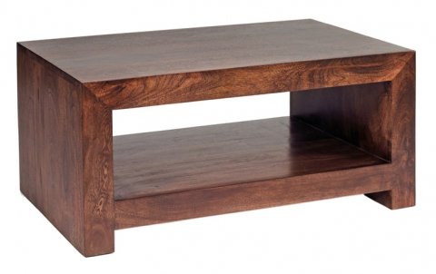Dakota Mango Modern Coffee Table