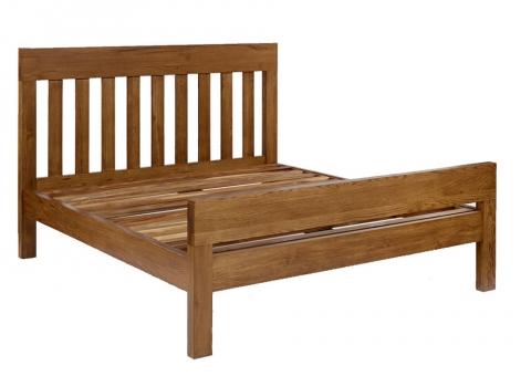 Santana Rustic Double Bed
