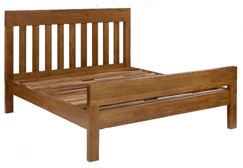 Santana Rustic Kingsize Bed