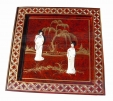 Chinese Red Lacquer Table