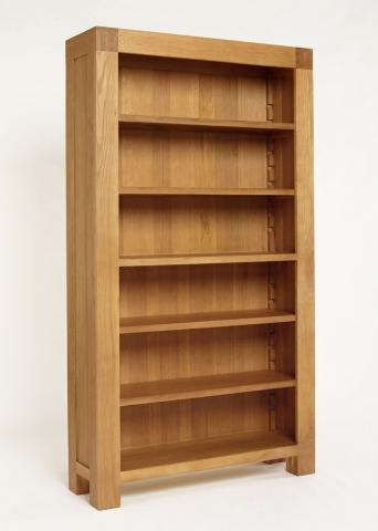 Santana Oak Bookcase