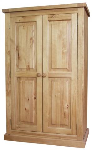 Chunky Pine Large Wardrobe