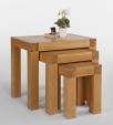 Santana Oak Tables Nest