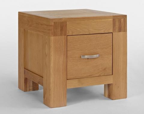 Santana Oak Lamp Table