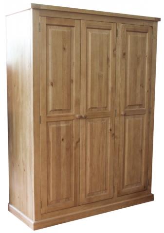 Chunky Pine Wardrobe