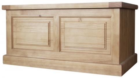 Chunky Pine Blanket Box