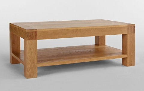 Santana Oak Coffee Table