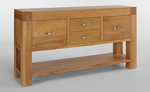 Santana Oak Hall Table