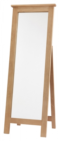 Chunky Pine Cheval Mirror