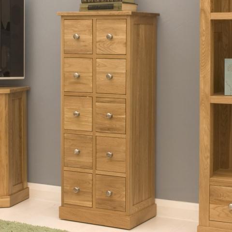 Mobel Oak Chest of Drawers