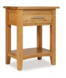 Hereford Oak Bedside Cabinet