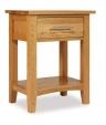Hereford Oak Bedside Cabinet
