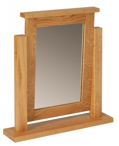 Hereford Oak Table Mirror