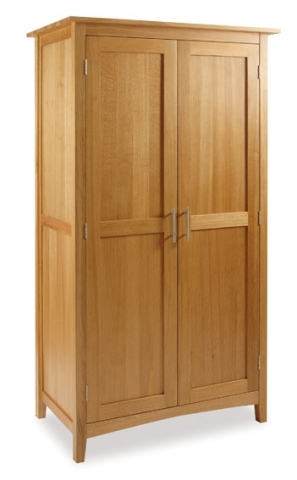 Hereford Oak Hanging Wardrobe