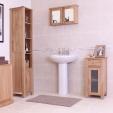 Mobel Oak Cabinet