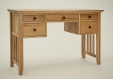 Hereford Rustic Oak Dressing Table