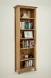Hereford Rustic Oak Bookcase
