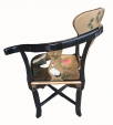 Chinese Gold Lacquer Chair