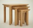 Hereford Rustic Oak Table Nest