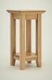 Hereford Rustic Oak Lamp Table
