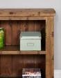 Heyford Oak Low Bookcase