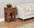 Heyford Oak Lamp Table