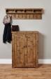 Heyford Oak Shoe Cupboard