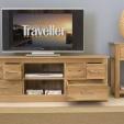 Mobel Oak Television Cabinet