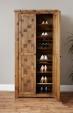 Heyford Oak Large Shoe Cupboard