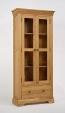 Normandy Oak Display Cabinet