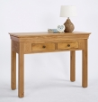 Normandy Oak Console Table