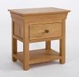 Normandy Oak Bedside Table