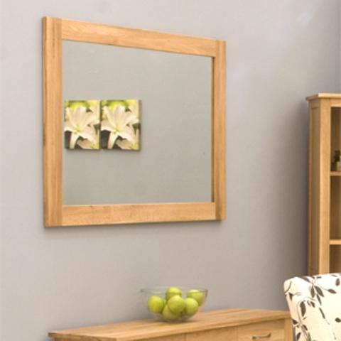 Mobel Oak Mirror