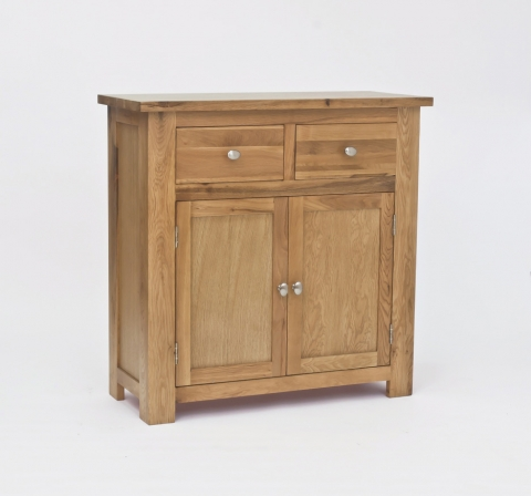 Lansdown Oak Compact Sideboard