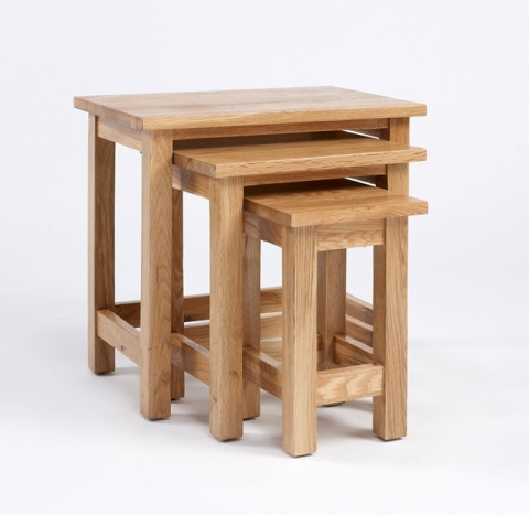 Lansdown Oak Table Nest