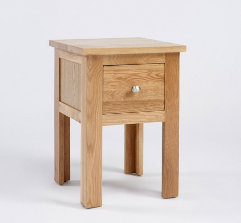 Lansdown Oak Lamp Table