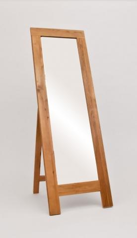 Lansdown Oak Cheval Mirror