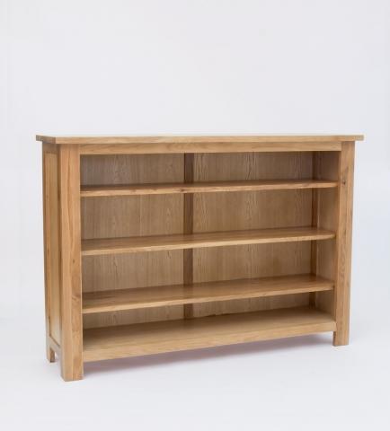 Lansdown Oak Low Bookcase