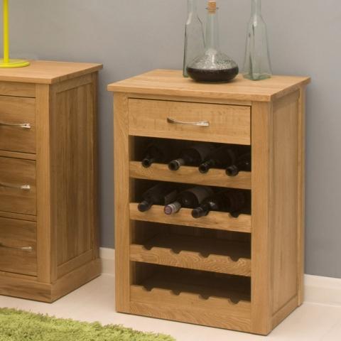 Mobel Oak Wine Rack