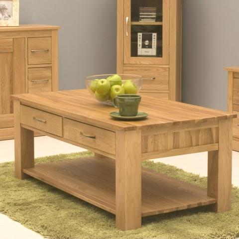 Mobel Oak Coffee Table