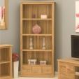Mobel Oak Large Bookcase