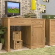 Mobel Oak Computer Desk