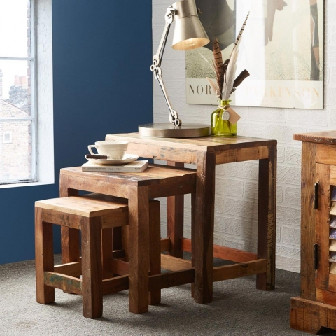 Coastal Reclaimed Table Nest