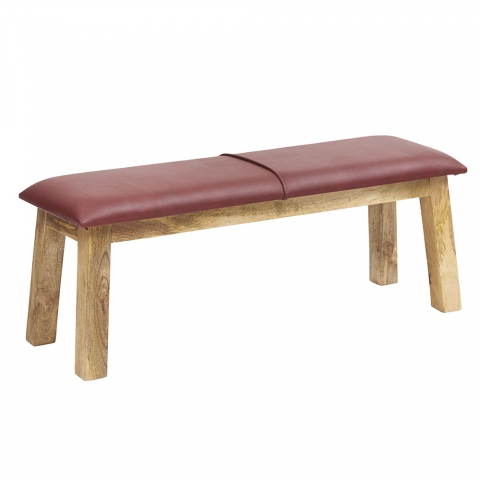 Turn Leather Bench