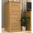 Mobel Oak Filing Cabinet