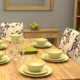 Mobel Oak Dining Table