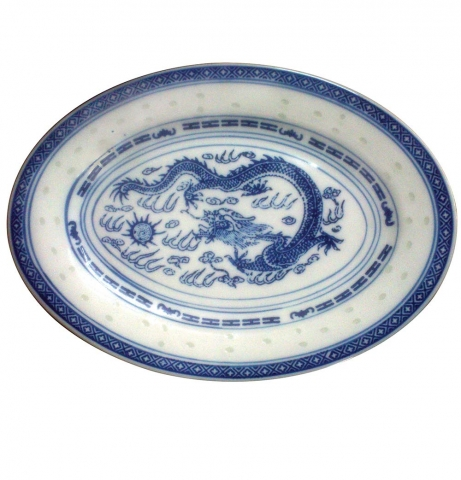 Set of 3 Oval Plates