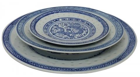 Set of 6 Plates - Large