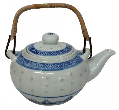 Rice Pattern Tea Pot