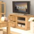 Mobel Oak TV Cabinet